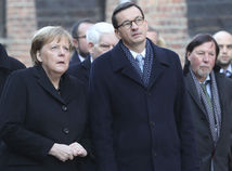 Angela Merkelová,  Mateusz Morawiecki