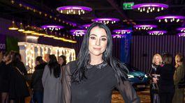 Na prehliadku Fera Mikloška sa prišla pozrieť aj Lucia Hablovičová.