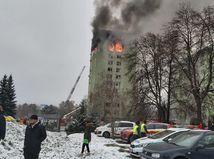 Výbuch plynu v bytovom dome v Prešove požiar hasiči