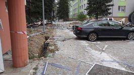 Výbuch plynu v bytovom dome v Prešove trosky