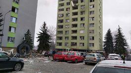 Výbuch plynu v bytovom dome v Prešove