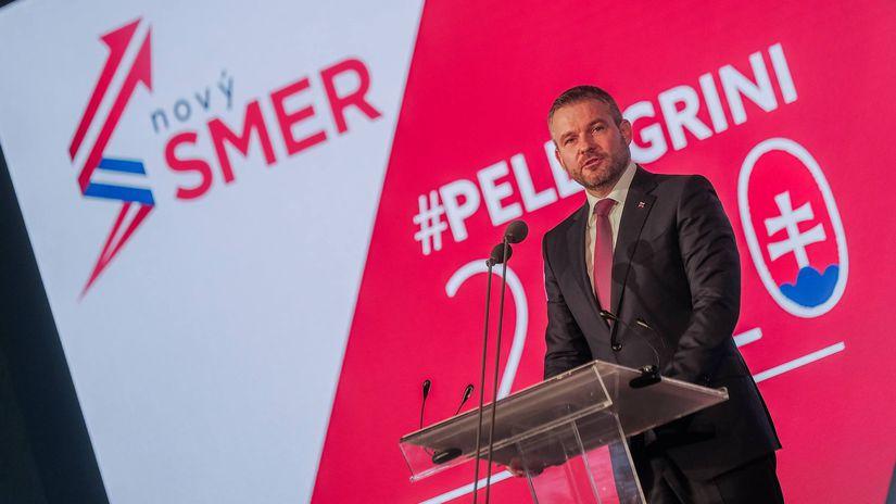 Pellegrini / Smer / Snem / 2020 /