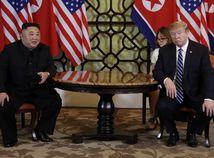 USA / KĽDR / Kim Čong-un / Donald Trump /