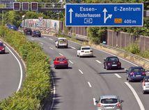 Nemecko - diaľnice