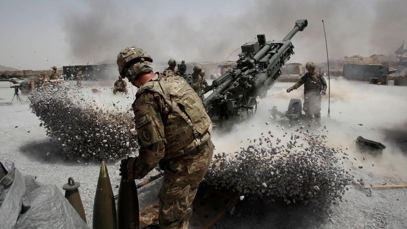 Afganistan / USA / vojak /