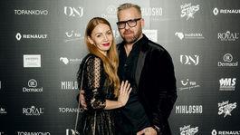 PF Dizajnér Fero Mikloško a fotografka Petra Ficová.