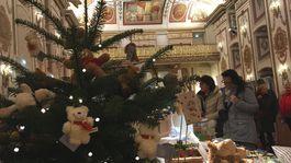 Eisenstadt, Rakúsko, advent, Vianoce, Esterházy, zámok