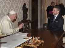 pápež františek peter Pellegrini