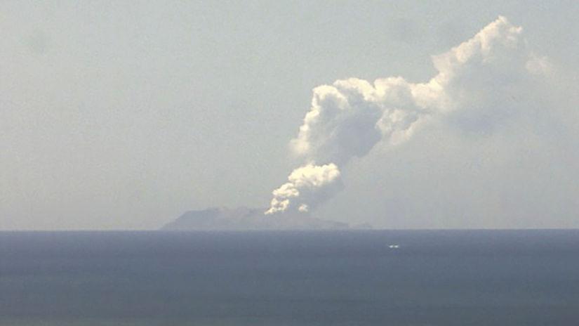 Sopka Nový Zéland