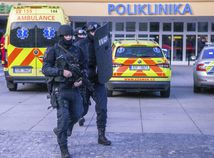 ČR česko streľba ostrava nemocnica