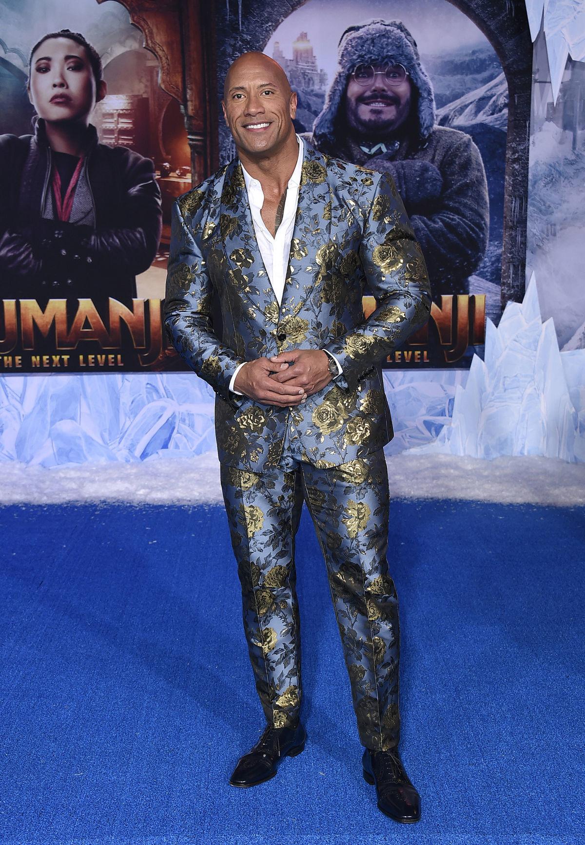 Herec Dwayne Johnson prišiel na premiéru filmu...