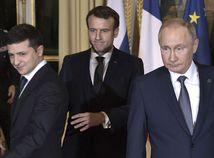 Macron, Putin, Zelenskyj, normandský formát
