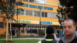 Ostrava, nemocnica, streľba