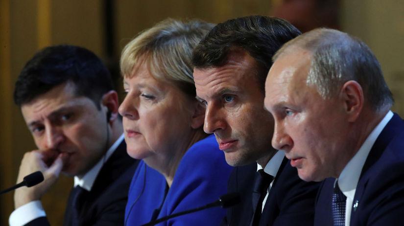 Paríž / Ukrajina / Normandský formát /