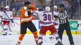 Rangers Flyers Hockey