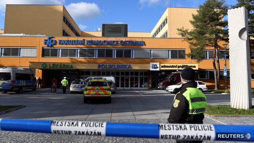 streľba ostrava polícia nemocnica ČR česko