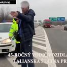 Talian to divokou jazdou v Bratislave prehnal. Príde o auto?