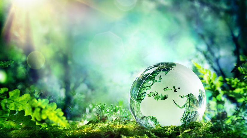 Zem, príroda, zeleň, slnko
