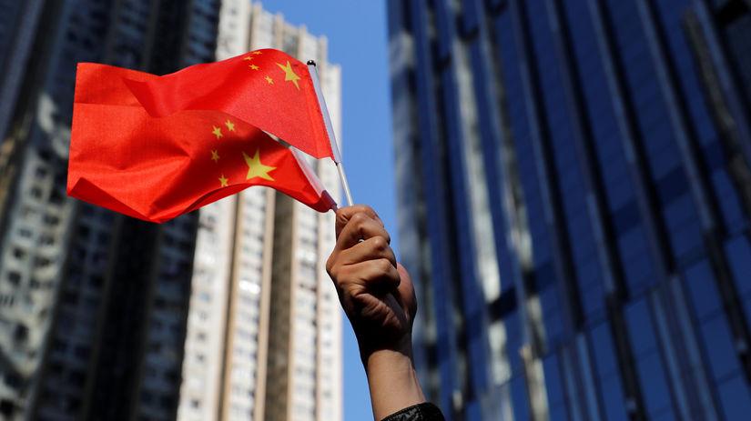 Čína / vlajka /