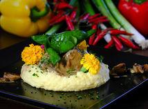 Hovädzí krk so špenátom, maďarská kuchyňa