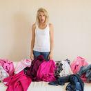 oblečenie, žena, šaty, odpad