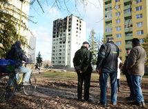 Plyn vyvetrajte, radili robotníci ľuďom na Mukačevskej