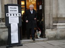 británia voľby Johnson boris