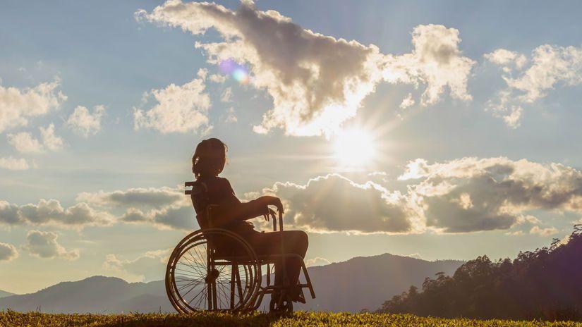 hory, invalid, invalidný vozík