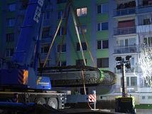 Demolačný stroj dorazil na Mukačevskú ulicu
