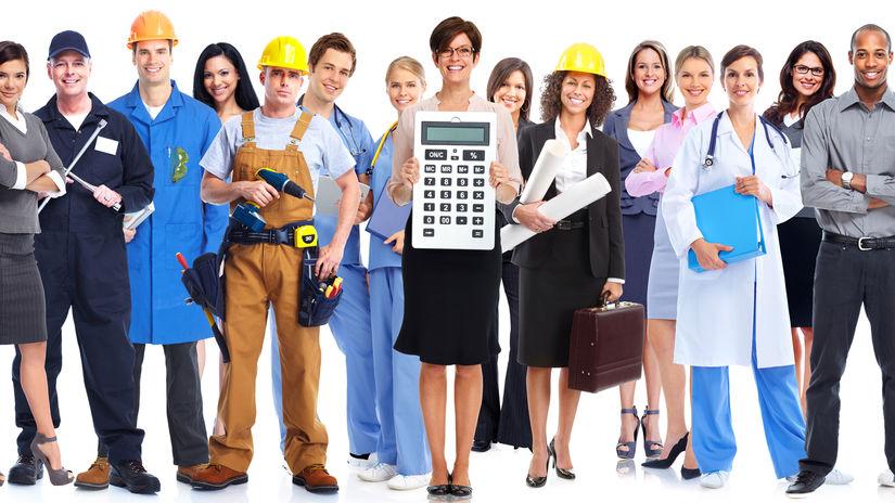 zamestnanie, povolanie, ľudia, rozdiely