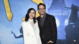 Herec Lin-Manuel Miranda a jeho manželka Vanessa Nadal.