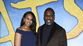 Manželia Sabrina Dhowre Elba a Idris Elba spoločne na premiére filmu Cats.