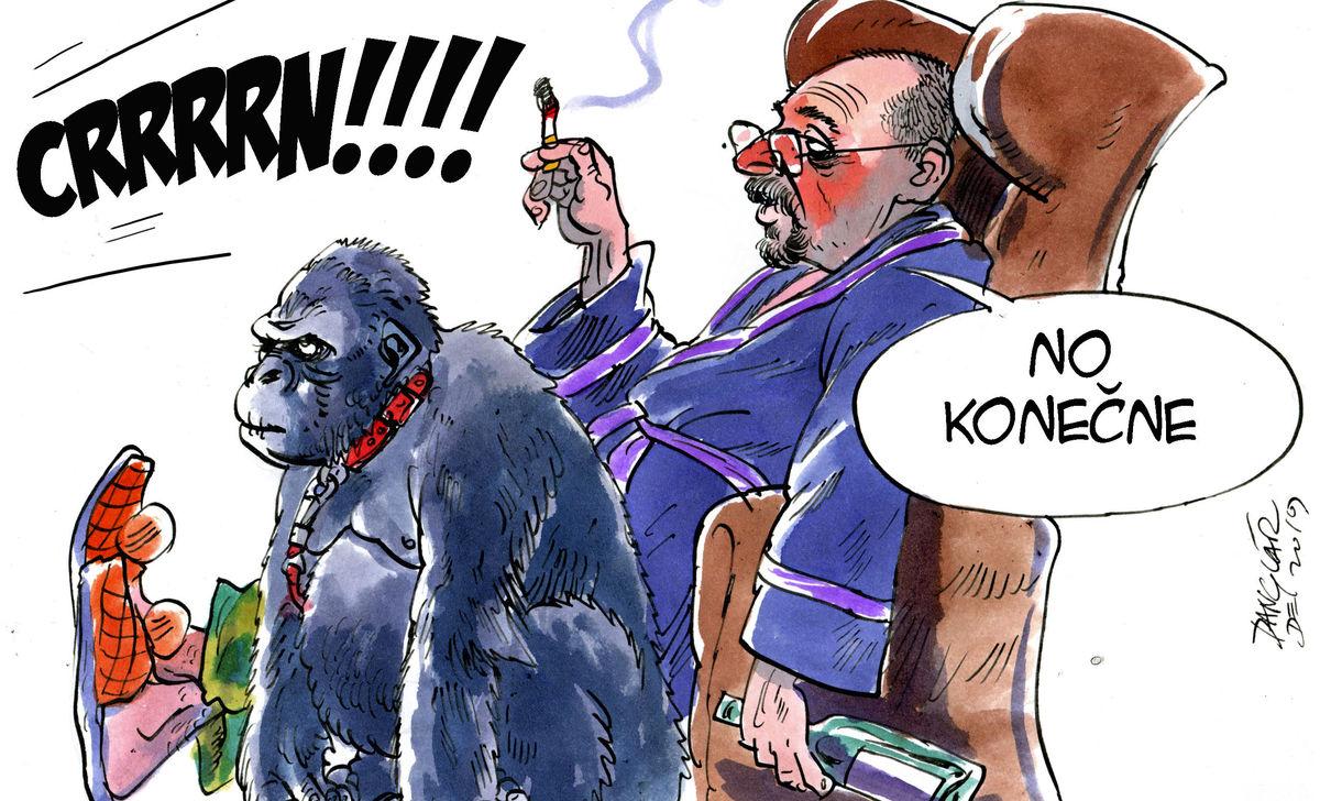 Karikatúra 19.12.2019