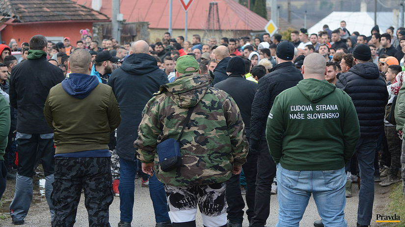 Richnava protest Kotlebovci ľsns