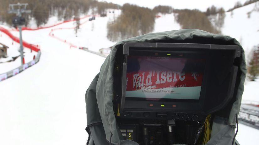 Val D'Isere, lyžovanie, počasie