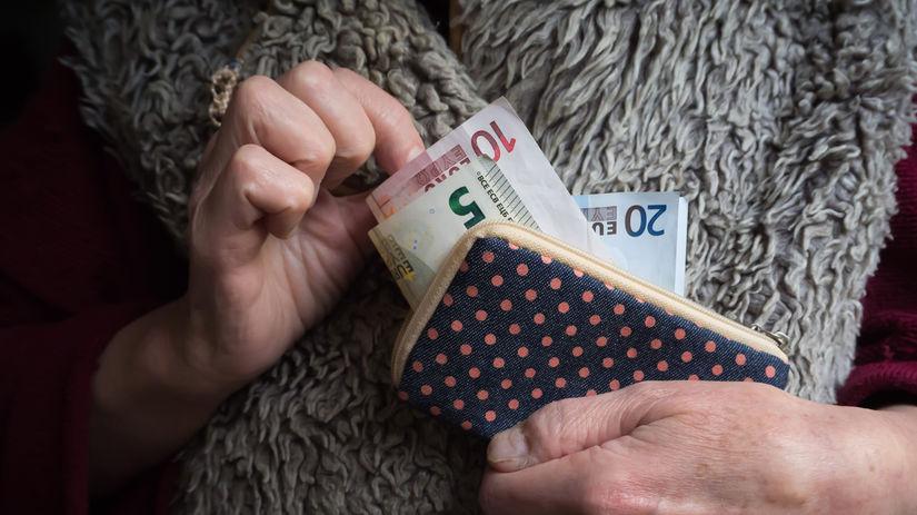 bankovky, peňaženka, euro