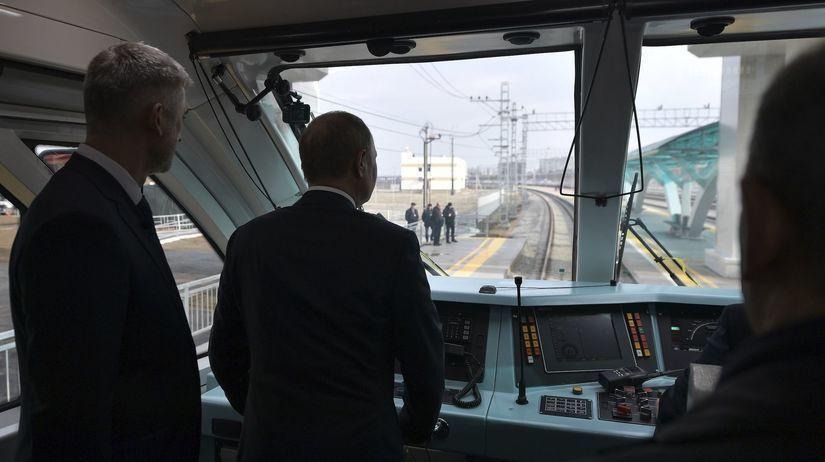 Rusko, Krymský most, Krym, Vladimir Putin