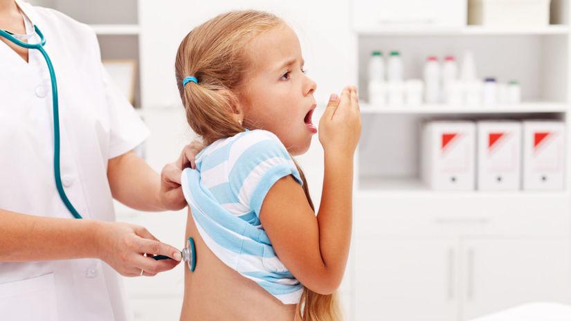 kašeľ, chrípka, dýchanie, vyšetrenie