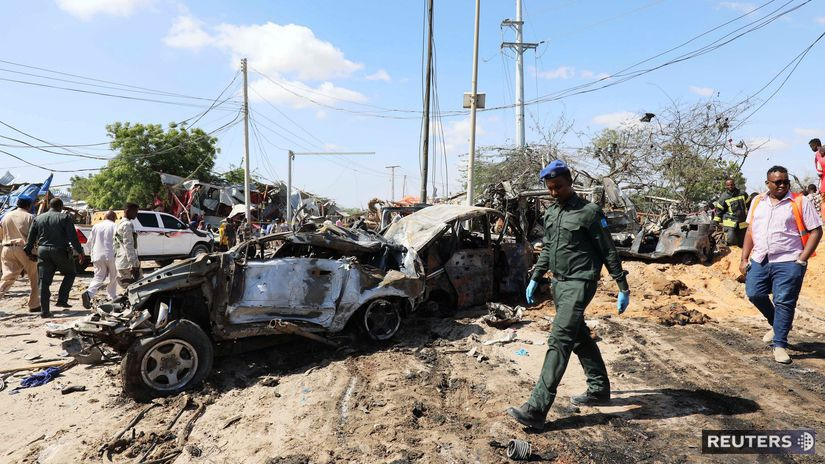 somálsko bombový útok mogadišo