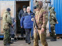ukrajina donbas výmena väzni