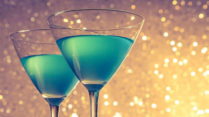 Blue Champagne, prípitok