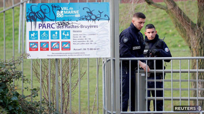 francúzska polícia,  Villejuif