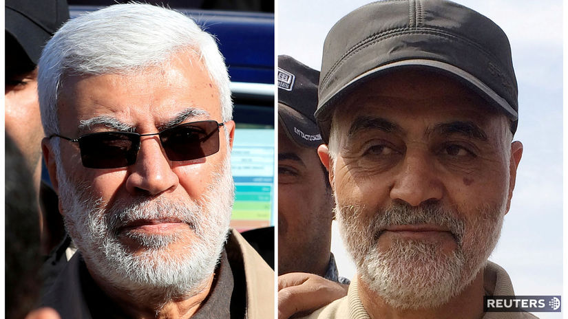 irak útok Gásem Solejmání Abú Mahdí al-Muhandis