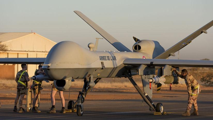 dron, mq-9, reaper, bezpilotné lietadlo