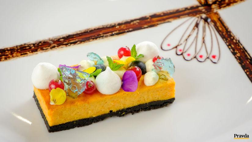 Mrkvovo-tekvicový cheesecake s batátmi