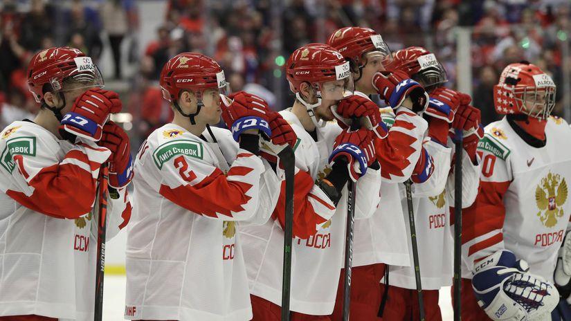 ruskí hokejisti,