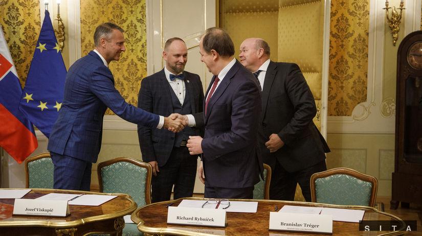 Podpis memoranda o spolupráci