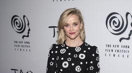 Herečka Reese Witherspoon na vyhlásení cien New York Film Critics Circle Awards.