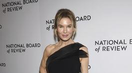 Herečka Renee Zellweger na vyhlásení cien National Board of Review Awards.