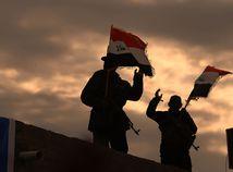 Irak vlajka iracká vojak